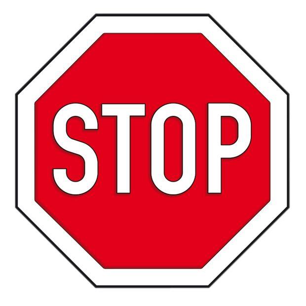 CAV 0208 Stresstypen - STOP Schild
