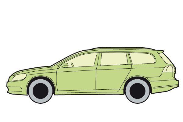 CAV 0911 Zugfahrzeuge Reiterauto - Kombi