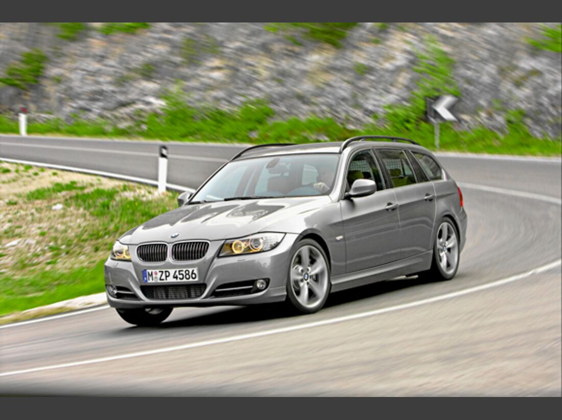 CAV 0911 Zugfahrzeuge perfektes Auto - Kombi - BMW 3er Touring