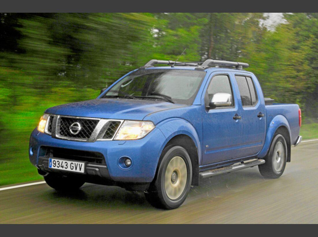 CAV 0911 Zugfahrzeuge perfektes Auto - Pick-up - Nissan Navara