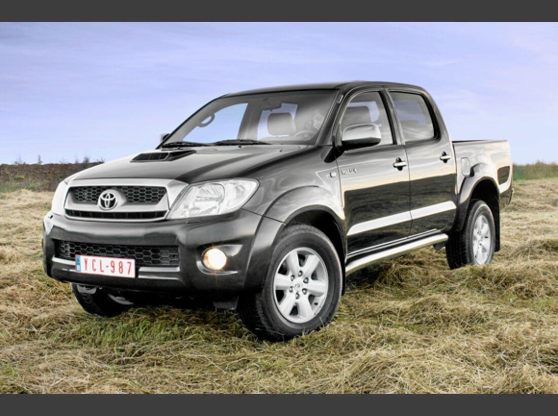 CAV 0911 Zugfahrzeuge perfektes Auto - Pick-up - Toyota Hilux