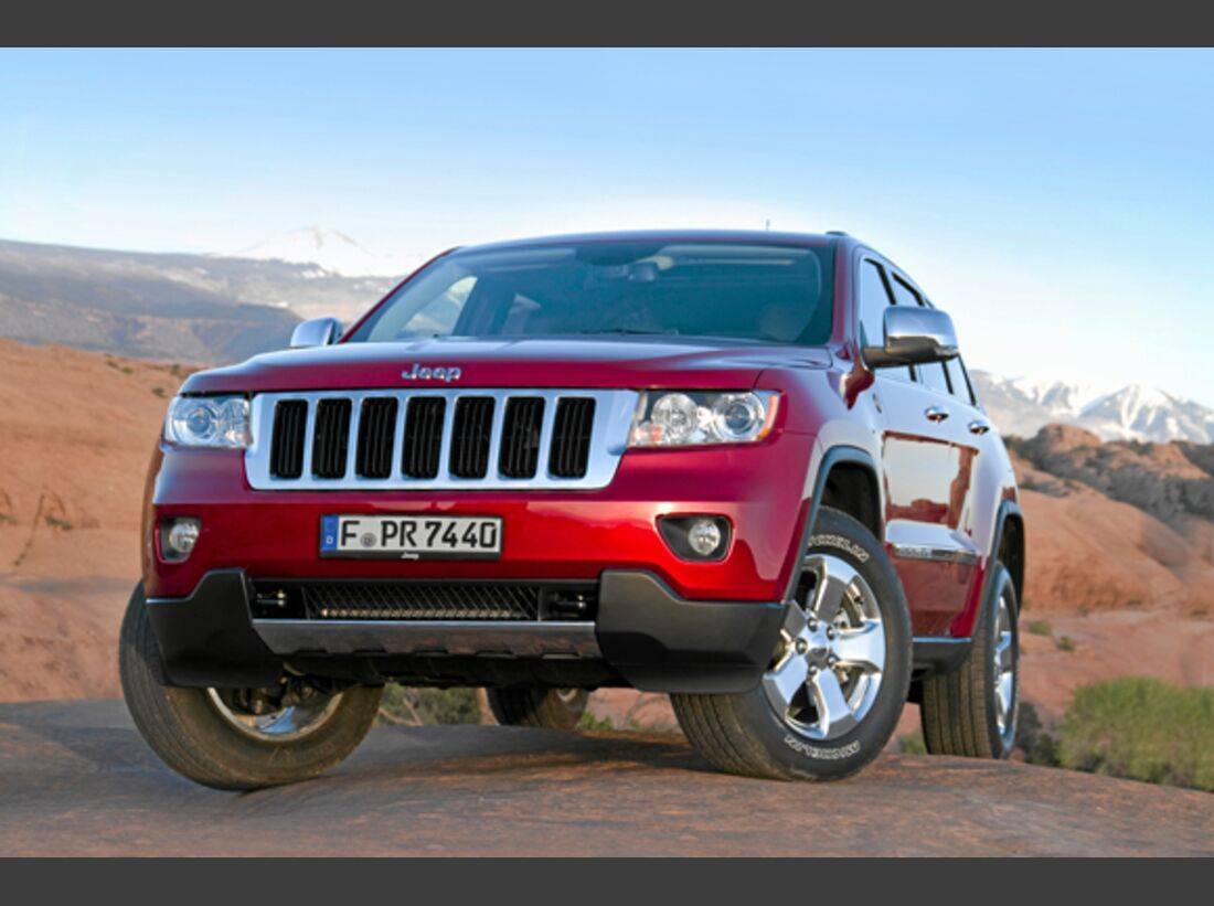 CAV 0911 Zugfahrzeuge perfektes Auto - SUV - Jeep Grand Cherokee