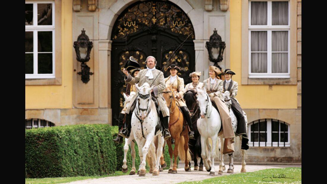 CAV 10 Jahre Fürstliche Hofreitschule Bückeburg 1