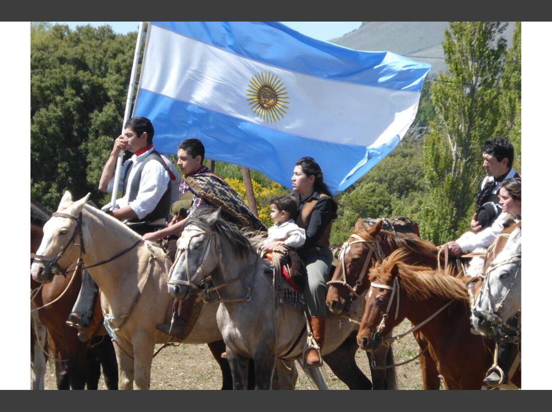 CAV Argentinien Wanderreiten 1