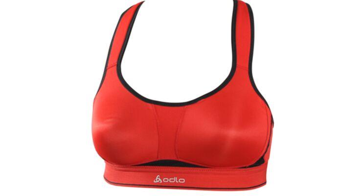 Damen Sport BH Unterwäsche UVP 54,95€ weiß Odlo Bra High Ultimate Fit