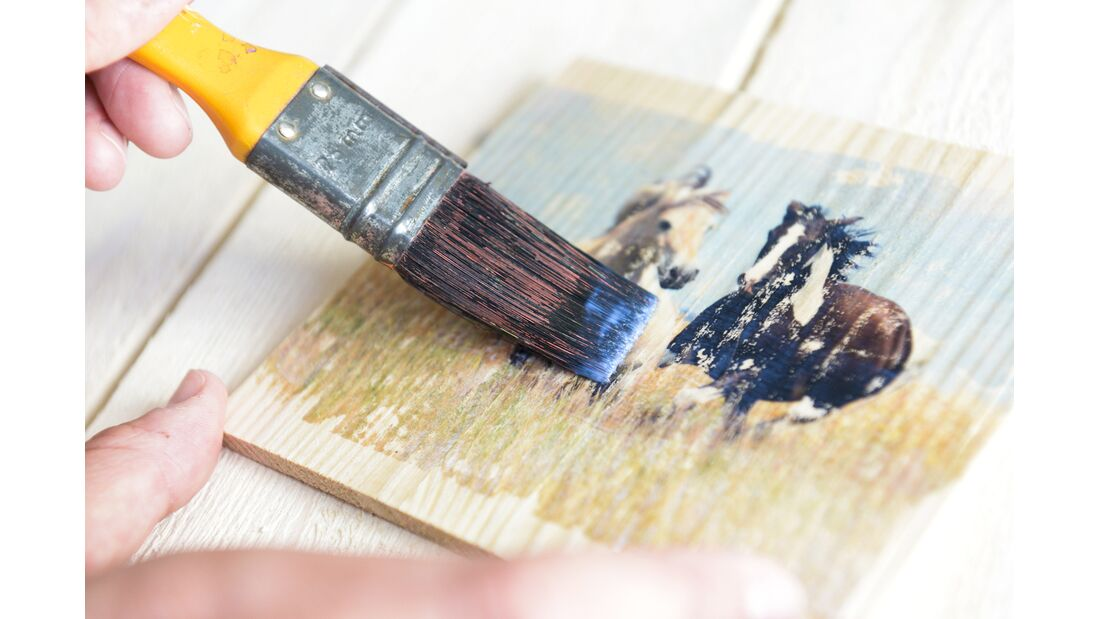 CAV Bastelecke Fotos auf Holz F