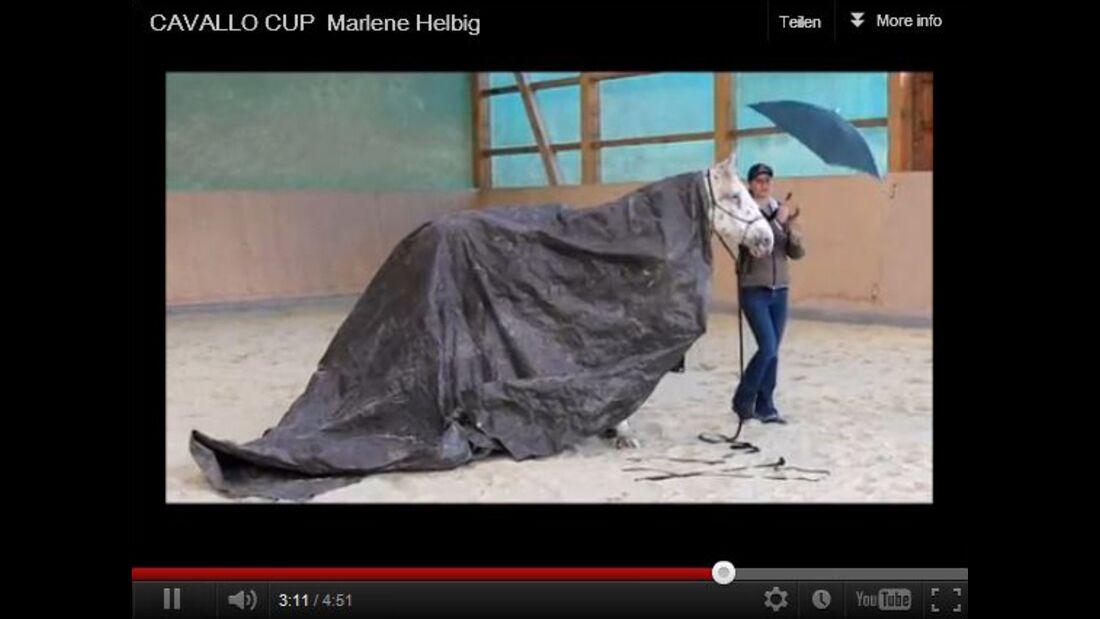 CAV CAVALLO Cup 2012 Finale Marlene Helbig