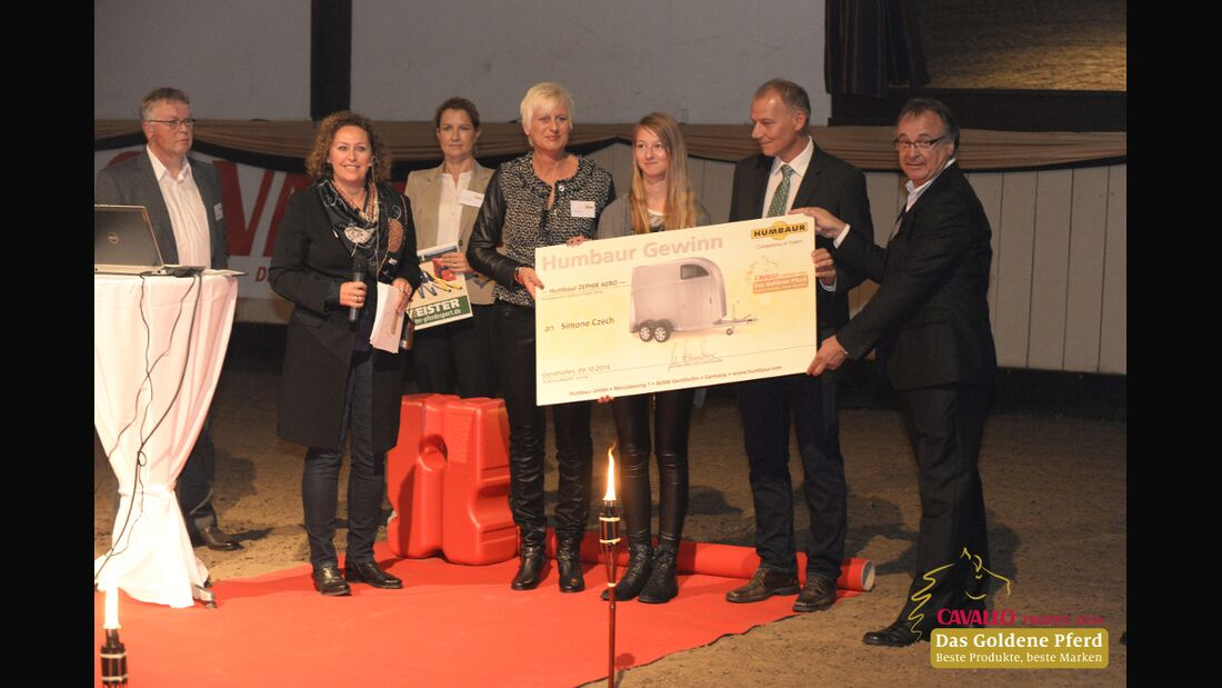 CAV CAVALLO Trophy Leserwahl 2014 Hänger Gewinn