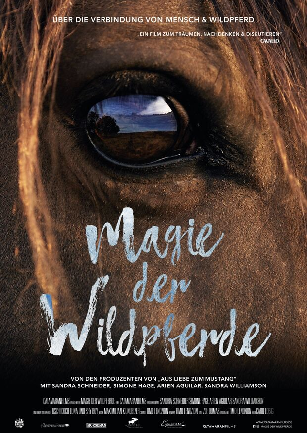 CAV Caro Lobig Magie der Wildpferde Filmplakat