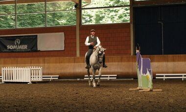 CAV Cavallo Academy 2014 Stefan Schneider Working Equitation