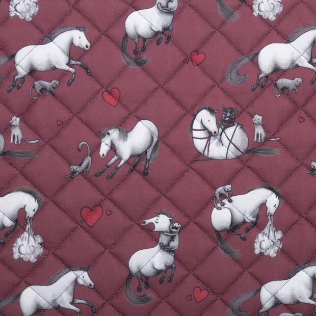 CAV Das gestiefelte Pferd Comic Schabracken 1