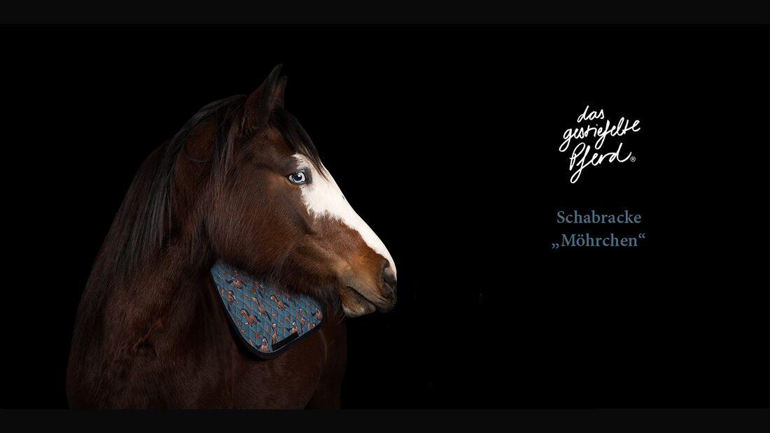 CAV Das gestiefelte Pferd Comic Schabracken