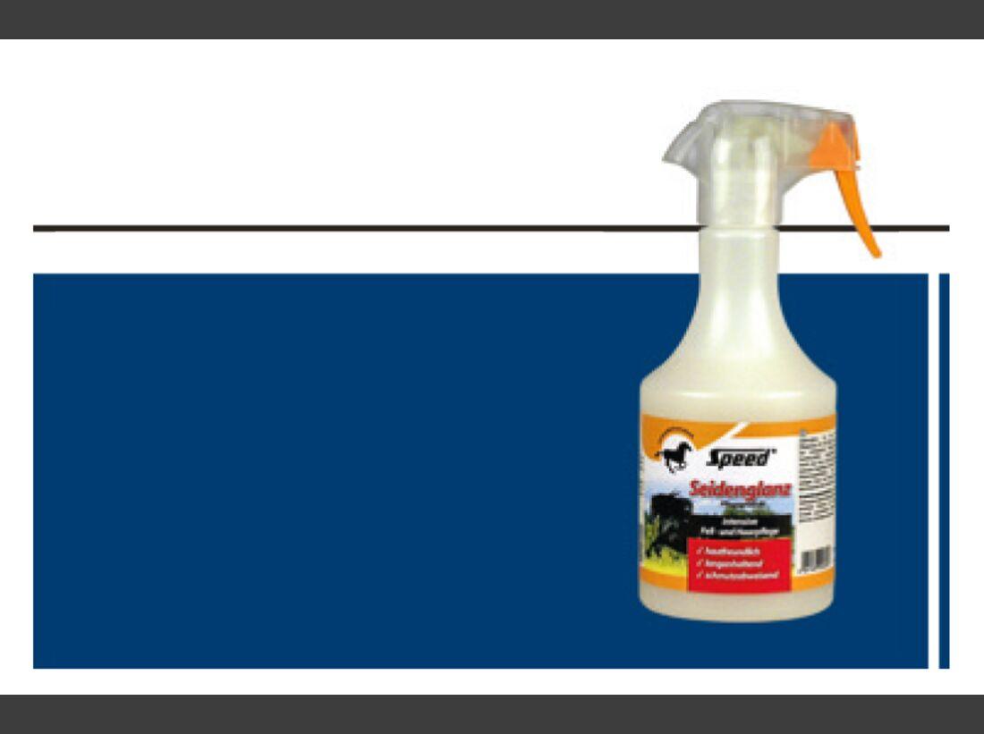 CAV  Fellspray Mähnenspray Schweifspray Pflege Test - SPEED Seidenglanz