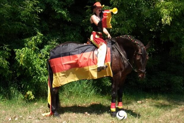 CAV Fotowettbewerb CAVALLO WM-Pferde Fußball