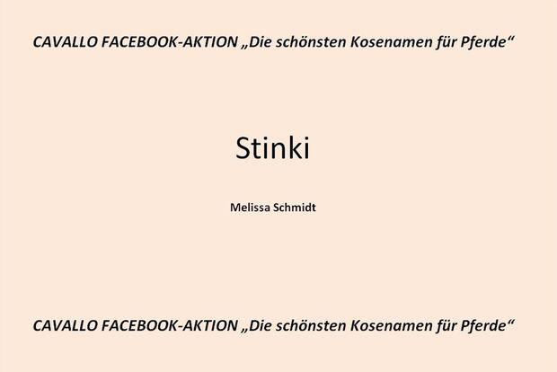 CAV Kosenamen Leserfotos 2014 - Stinki