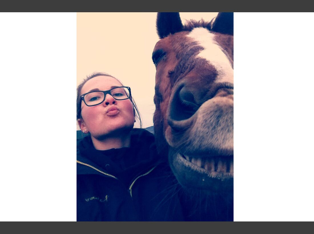 CAV Leserfotos Selfie Pferde Jacqueline Wenzler