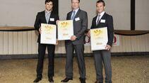 CAV Leserwahl 2012 Trophy Goldenes Pferd Sattel