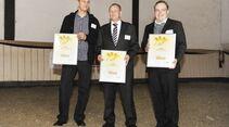 CAV Leserwahl 2012 Trophy Goldenes Pferd Westen