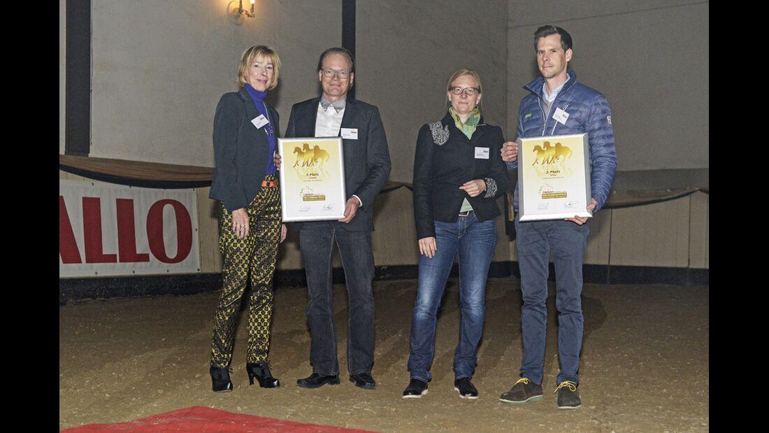CAV Leserwahl 2016 Trophy Goldenes Pferd
