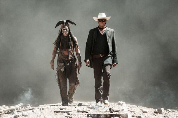 CAV Lone Ranger Johnny Depp 3