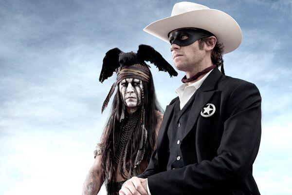 CAV Lone Ranger Johnny Depp 7