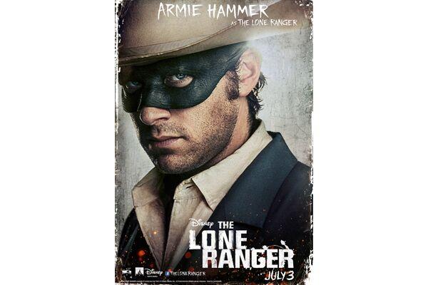 CAV Lone Ranger Johnny Depp - Armie Hammer