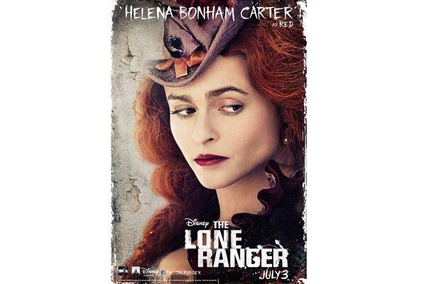 CAV Lone Ranger Johnny Depp - Helena Bonham Carter