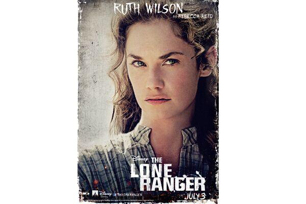 CAV Lone Ranger Johnny Depp - Ruth Wilson