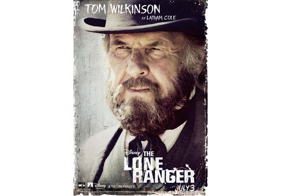 CAV Lone Ranger Johnny Depp - Tom Wilkinson