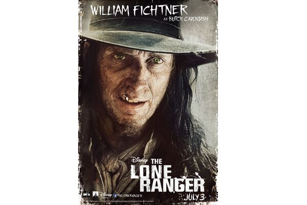 CAV Lone Ranger Johnny Depp - William Fichtner