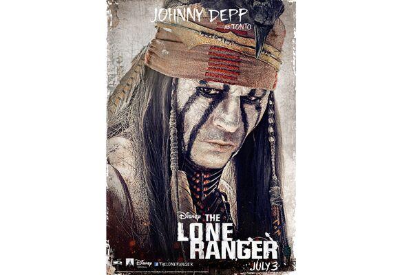 CAV Lone Ranger Johnny Depp