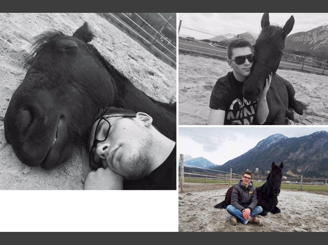 CAV Maenner lieben Pferde Manuel Klingseisen