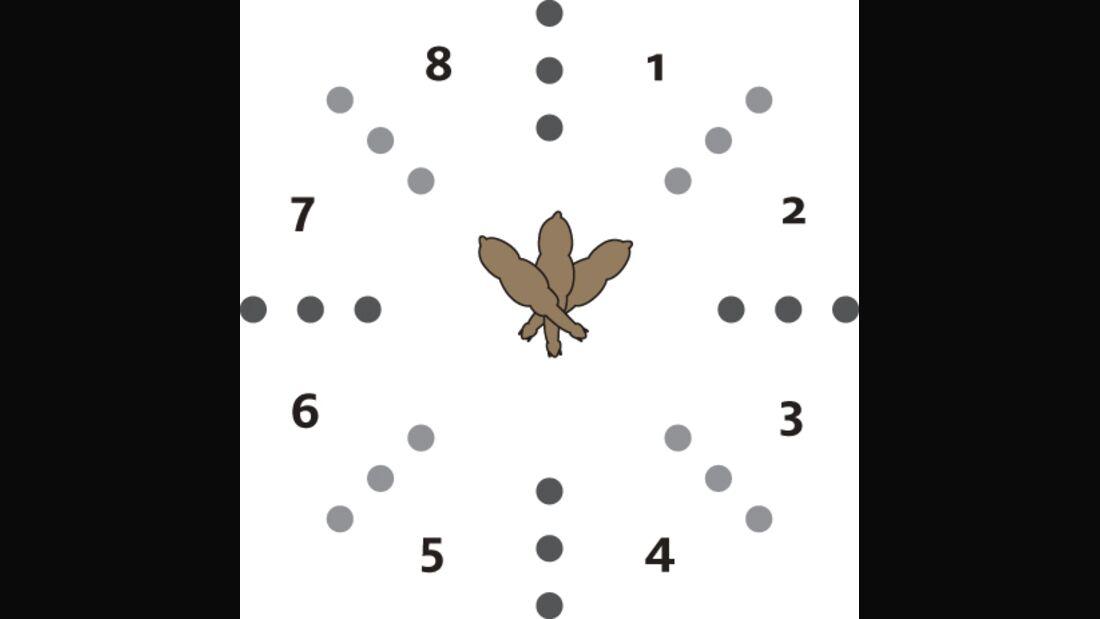 CAV Meisterkreis Übungen Kreis Hütchen 1