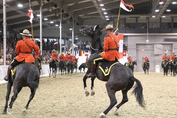 CAV Mounties Royal Canadian Mounted Police RCMP MS