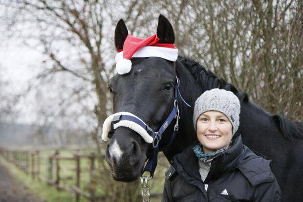 CAV Nikolaus mit Pferden Anne Teschner