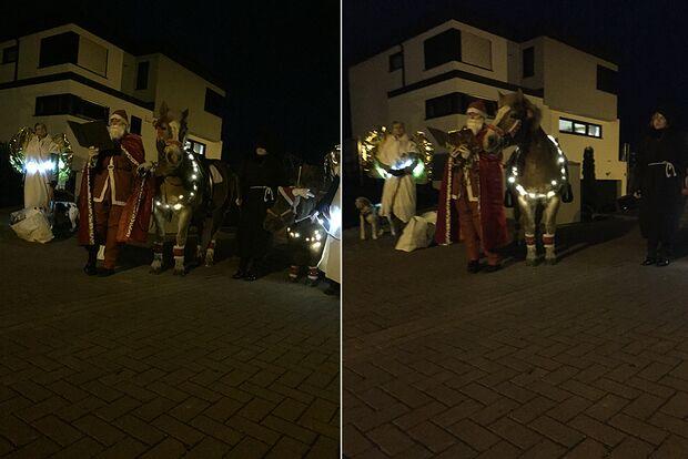 CAV Nikolaus mit Pferden Stephanie Dapper