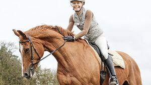 CAV Pferd Fuchs Reiterin