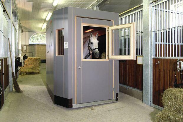 CAV Pferdesolarien - Pferd in Thermium