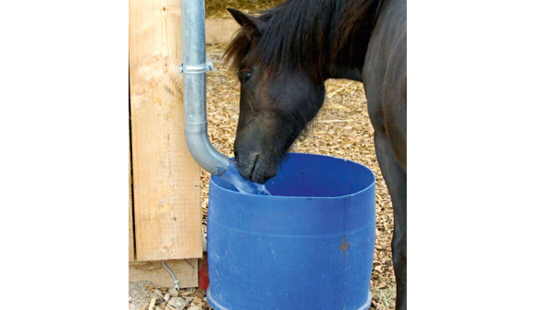 CAV Regenwasser Pferde tränken 2