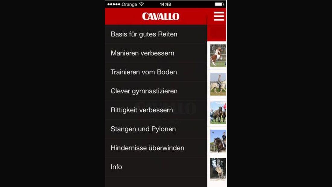 CAV Reitcoach App Reit-Coach App