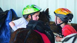 CAV Reiten Kinder Ponyreiten Studie