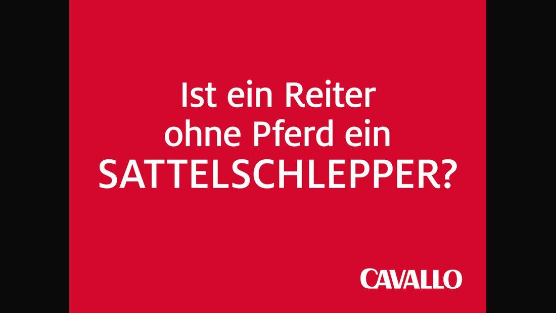 CAV Reiterphilosophie Sattelschlepper