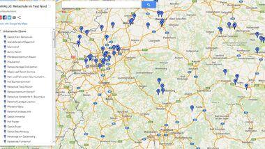 CAV Reitschul-Test Google Karte
