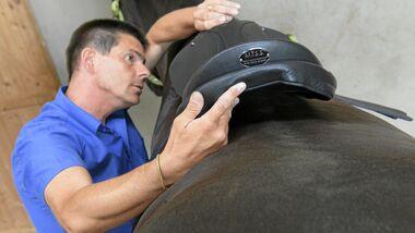 CAV Sattel Martin Breitler MISS Modular Individual Saddle System