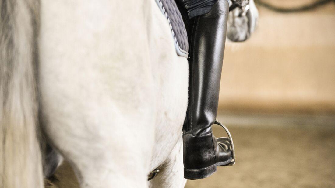 CAV Schenkel Hilfe Bein Stiefel Schimmel
