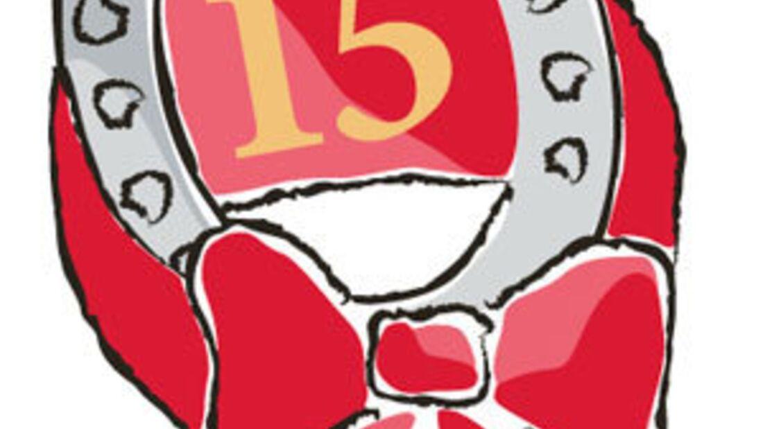 CAV Schleife Jubiläum CAVALLO Geburtstag