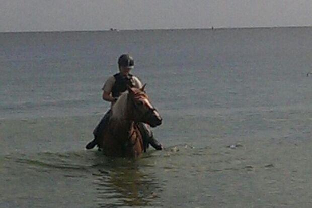 CAV Sommer mit Pferden 2014 - Hannah und Moritz 1