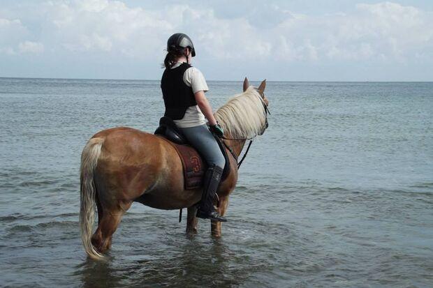 CAV Sommer mit Pferden 2014 - Hannah und Moritz
