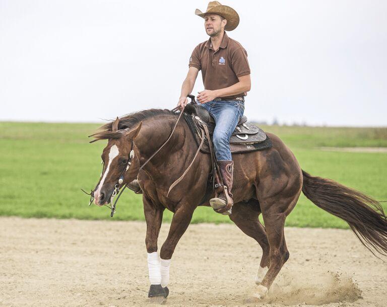 Wie reitet man richtig western