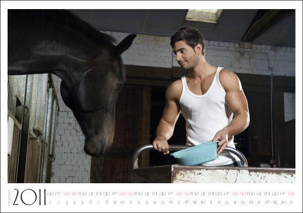 CAV Stallburschen-Kalender Dezember